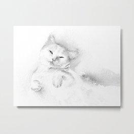 Playful Cat II Metal Print