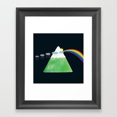 Prismountain Framed Art Print