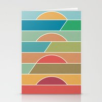 u2 Stationery Cards featuring 4 Degrees by Rick Crane