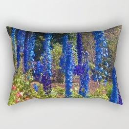Delphinium Garden Rectangular Pillow