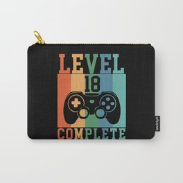 Birthday Level 18 Complete Gaming Carry-All Pouch