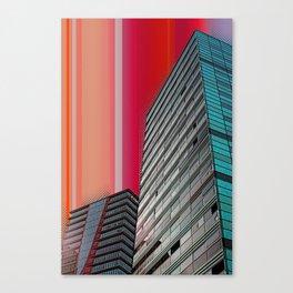 Gran Via Bcn Canvas Print