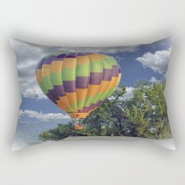 Balloon Landing Rectangular Pillow