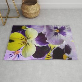 Pansy Patch Rug