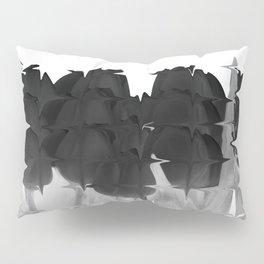 Black tulips Pillow Sham