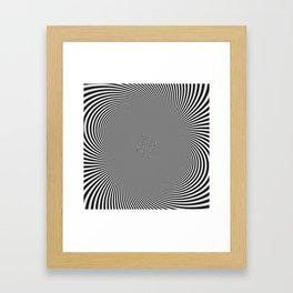 moire patterns II Framed Art Print