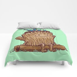 Good Day Log's Bird Nest Comforters