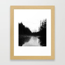 Wet Framed Art Print