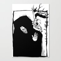 pagan Canvas Prints featuring Pagan Image by Xochicalco