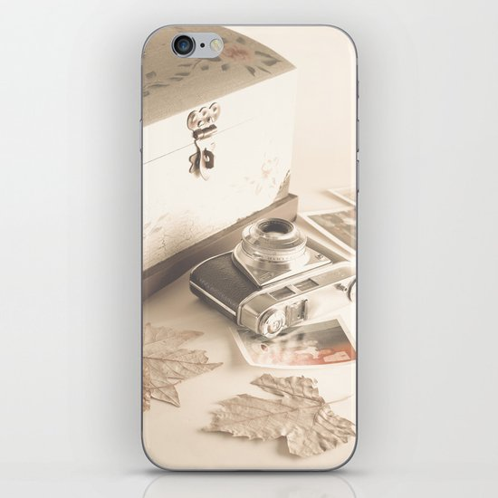 Remembers (vintage still life photography) iPhone & iPod Skin