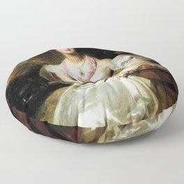 Thomas Lawrence - Portrait of the Honorable Mrs Seymour Bathurst Floor Pillow