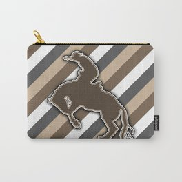 Cowboy Rodeo Bucking Horse Design Carry-All Pouch