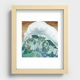 Our Healthcare Workers Recessed Framed Print