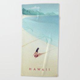 Hawaii Beach Towel