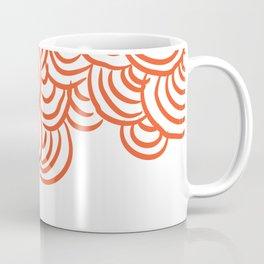 Tide pools in Red Coffee Mug
