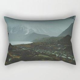 Hiking Around the Mountains & Valleys of New Zealand Rectangular Pillow