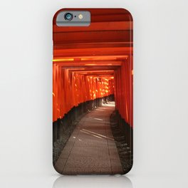 The Torri Gates of Fushimi Inari Taisha iPhone Case