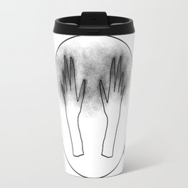 moon hands Travel Mug