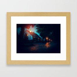 [Berlin] At night Framed Art Print