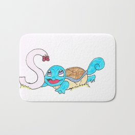 S is for Squirtle Bath Mat