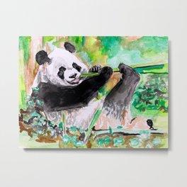 Panda lovin' Metal Print