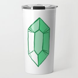 Green Crystal Travel Mug