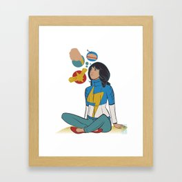 Kamala Framed Art Print