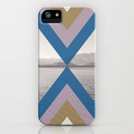Boho Arrows of Lake Wanaka iPhone Case