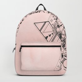 Roses in Moonlight Pink Backpack