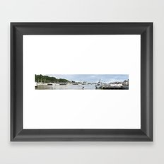 Tall Ships Race Waterford 2011 - Day 3 Panoramic  Framed Art Print