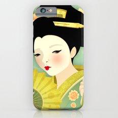 Geisha: Olive Slim Case iPhone 6s