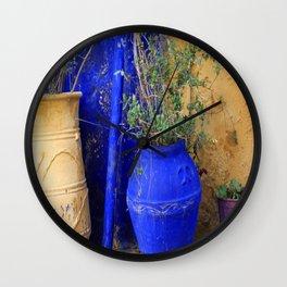 Three Flowerpots Wall Clock