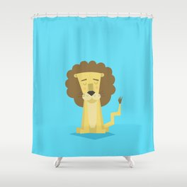 Roar Shower Curtain