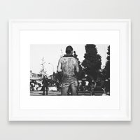 rockabilly Framed Art Prints featuring Rockabilly Japan by Aimee Stoddart