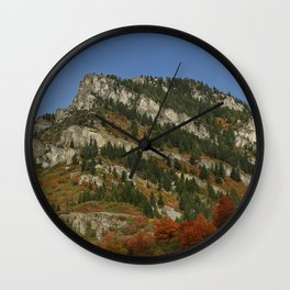 Mountain of Rock in Color Wall Clock