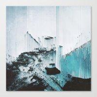 glitch Canvas Prints featuring Glitch by SUBLIMENATION