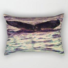 Water Sunset 2 Rectangular Pillow