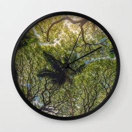 Jungle Canopy Wall Clock