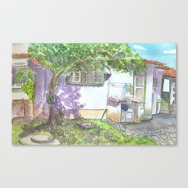 Colonial House 2 Canvas Print