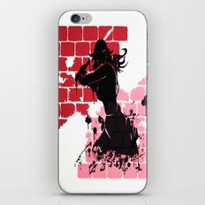 Woman Warrior iPhone & iPod Skin