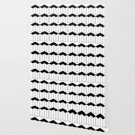 L shaped 3d block art Wallpaper