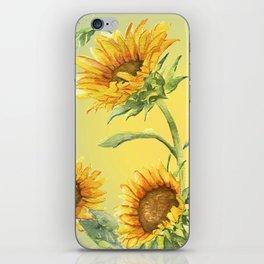 Sunflowers 2 iPhone Skin