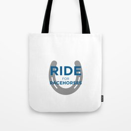 Ride for Racehorses - Prodigious Fund Tote Bag