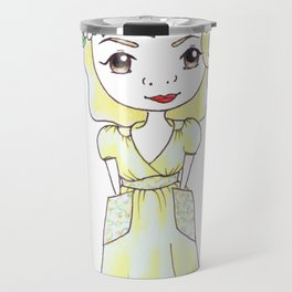 Vintage Gal ~ Vintage At Heart Travel Mug