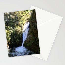Talamanca Waterfalls Stationery Cards