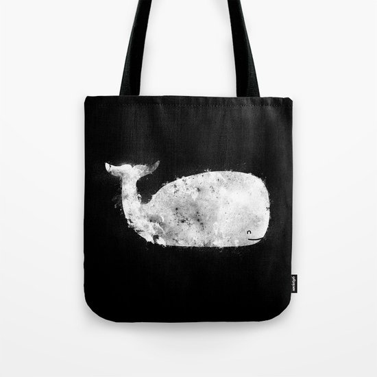 Bleached Whale Tote Bag