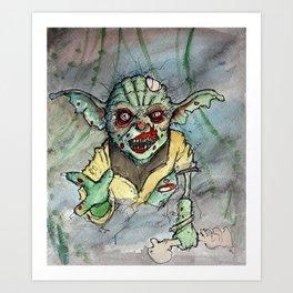 zombie i am Art Print