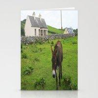 irish Stationery Cards featuring Irish Cottage by Kim Ramage