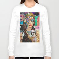 chelsea Long Sleeve T-shirts featuring Chelsea by Katy Hirschfeld