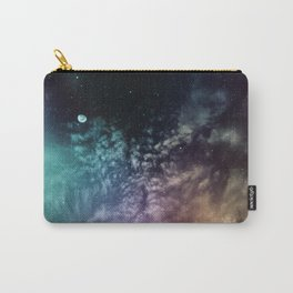 Polychrome Moon Carry-All Pouch